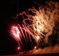 Fireworks Skegness Photograph