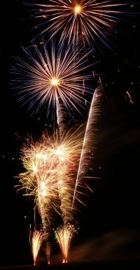 Free Fireworks Display Photograph