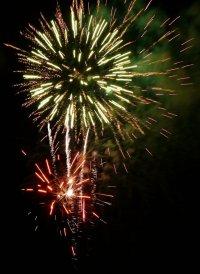 Skegness Firework Photograph