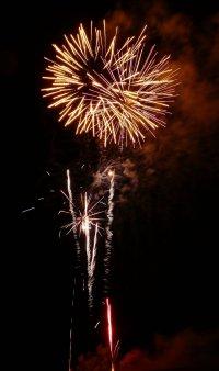 Skegness Fireworks Photograph