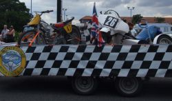 Skegness Carnival Bikes In A Trailer