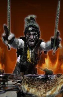 Cirque De Glace Drummer