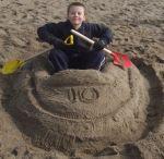 Skegness Sand Boat