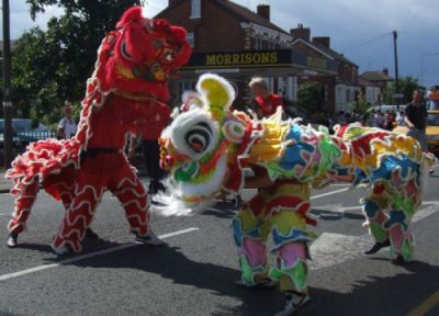 Skegness Carnival Chinese Dragon