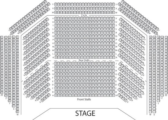 Skegness Embassy theatre Seating Plan